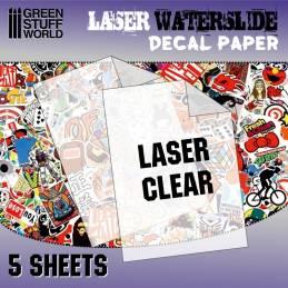 Calcas al agua - Laser Transparente