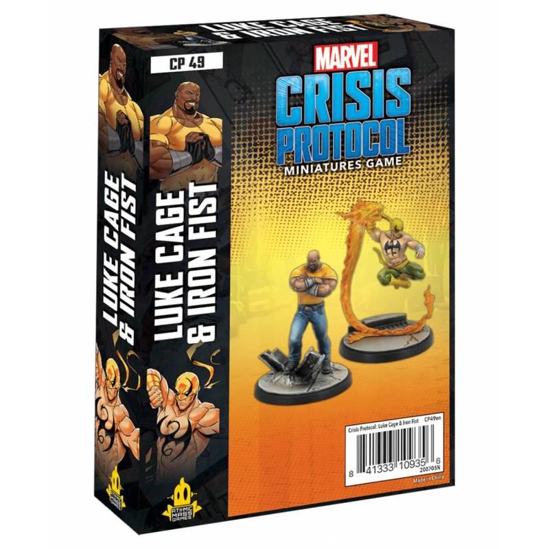 Crisis Protocol Luke Cage & Iron Fist