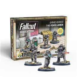 Fallout: Wasteland Warfare - Unaligned: T 45 Power Armor