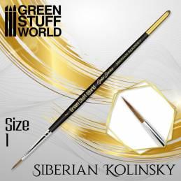 GOLD SERIES Pincel Kolinsky Siberiano - 1