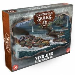 Dystopian Wars: Ning Jing Battlefleet Set