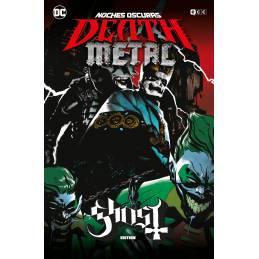 Noches oscuras: Death Metal núm. 02 de 7 (Ghost Band Edition)