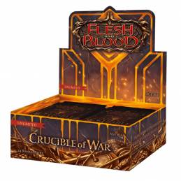 [PREORDER] Flesh & Blood TCG - Crucible of War Unlimited Booster Display (24 Packs)