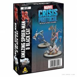Crisis Protocol Amazing Spider-Man & Black Cat