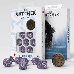 The Witcher Dice Set. Yennefer - Lilac and Gooseberries