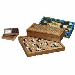 Juego Go en estuche madera