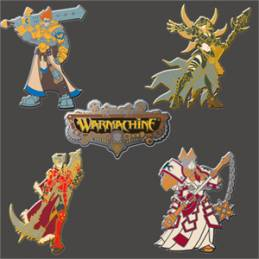 WARMACHINE Core Pin Set