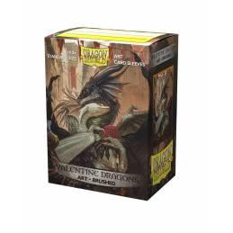 Valentine Dragon 2021 (100 Sleeves) - Dragon Shield Brushed Art Sleeves