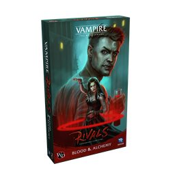 Vampire: The Masquerade Rivals Expandable Card Game Blood & Alchemy Expansion