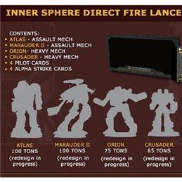 [PREORDER] BattleTech Inner Sphere Direct Fire Lance