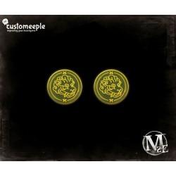 "Malifaux marcadores de ""Spiritual Guardian"" (2 Uds)"