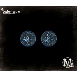 "Malifaux marcadores de ""Southern Charm"" (2 Uds)"