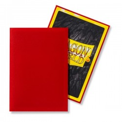 Matte Crimson (100 Sleeves) - Dragon Shield Standard Sleeves