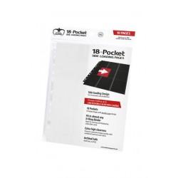 Hojas para archivador (10 unidades) 18-Pocket Side-Loading Blanco