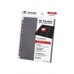 Hojas para archivador (10 unidades) 18-Pocket Side-Loading Gris