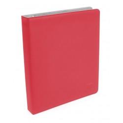Álbum 3 Anillas - Supreme Collector's Slim Xenoskin Rojo