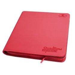 Álbum 12 - Pocket QuadRow Zipfolio XenoSkin Rojo