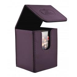 Flip Deck Case Leatherette 100+ Violeta