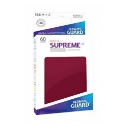 Fundas Supreme Japonés UX Mate Color Borgoña (60 unidades)