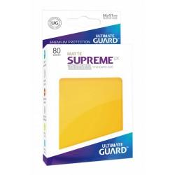 Fundas Supreme UX Mate Amarillo (80 unidades)