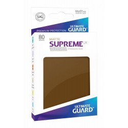 Fundas Supreme UX Mate Color Marrón (80 unidades)