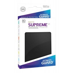 Fundas Supreme UX Mate Color Negro (80 unidades)