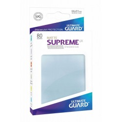 Fundas Supreme UX Mate Color Transparente (80 unidades)