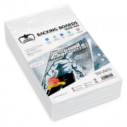 Backing Boards tamaño Silver (100 unidades)