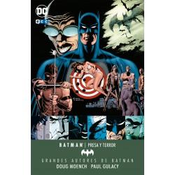 Presa y Terror – Grandes autores de Batman: Doug Moench y Paul Gulacy