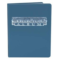 9-Pocket Blue Collectors Portfolio