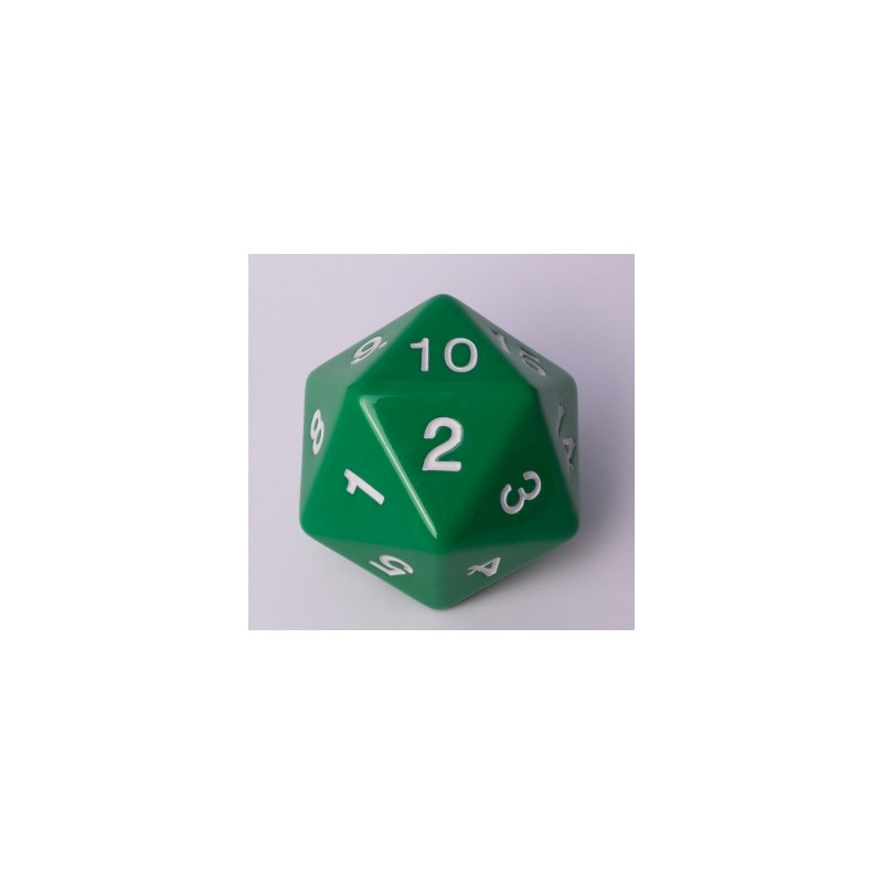 D20 Countdown Die 55 mm - Green