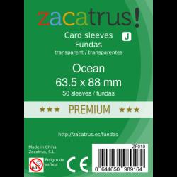 Fundas Zacatrus Ocean premium (standard: 63.5 mm X 88 mm) (50 uds)