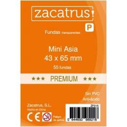 Fundas Zacatrus Mini Asia Premium (43 mm X 65 mm) (50 uds)