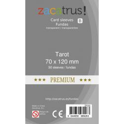 Fundas Zacatrus Tarot Premium (70x120mm) (50)