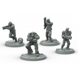 Fallout: Wasteland Warfare - Brotherhood of Steel: Frontline Knights