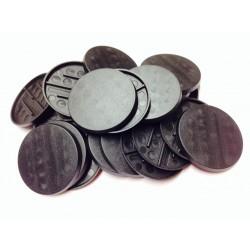 Peana redonda 40mm