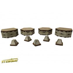 Bunkers and tank traps