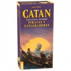 Catan: Piratas y Exploradores Ampliacion 5 y 6 Jugadores