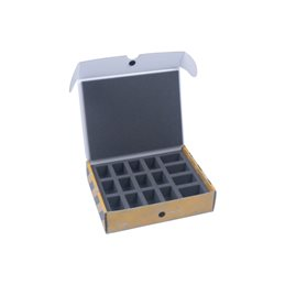 Half-sized small  box for 16 miniatures
