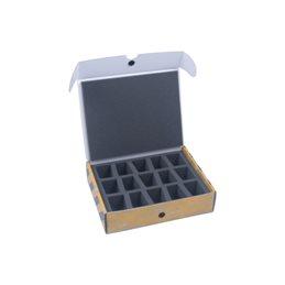 Half-sized small box for 15 minitaures