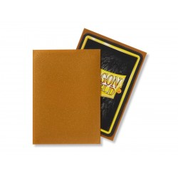 Matte Gold (100 Sleeves) - Dragon Shield Standard Sleeves