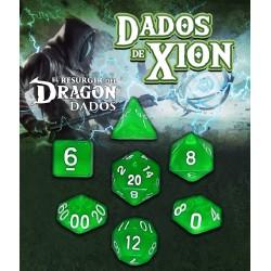 Dados de Xion: Verde Zefirira