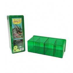 4 Compartment Storage Box - Green