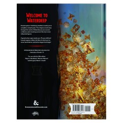 Waterdeep Dragon Heist Book - EN