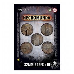 Peanas de Necromunda de 32 mm