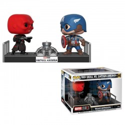 POP Marvel Captain America vs Red Skull