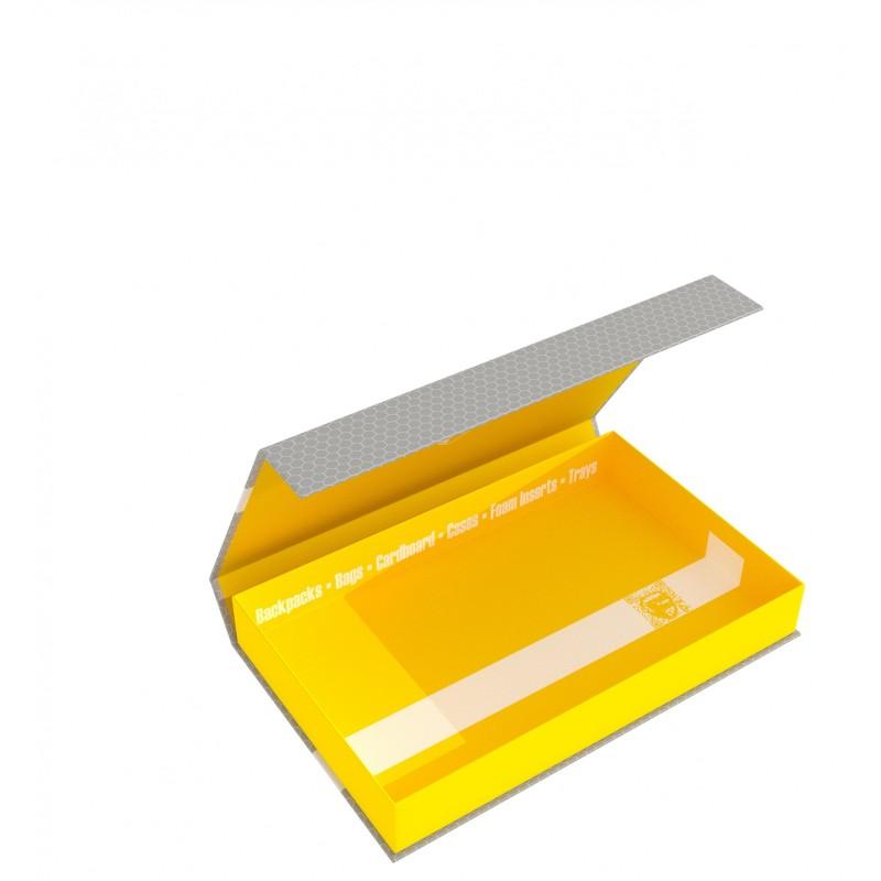 Feldherr Magnetic Box yellow Half-Size 40 mm