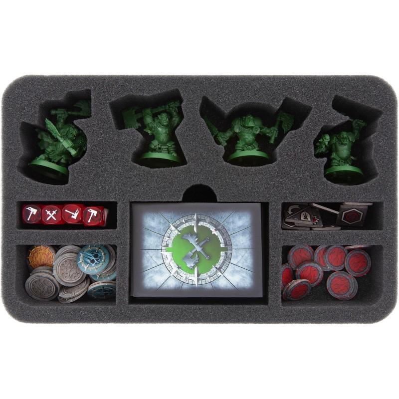 foam tray for Warhammer Underworlds: Shadespire – Warband Ironskull's Boyz