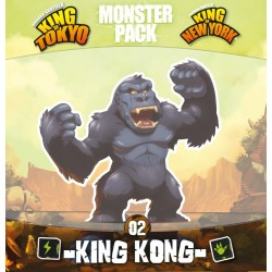 King of Tokyo/New York: Serie Monstruos – King Kong
