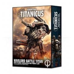 Adeptus Titanicus: Warlord Battle Titan con Plasma Annihilator